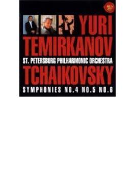 Sym.4, 5, 6: Temirkanov / St.petersburg.po