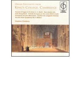 Cleobury: Organ Recital