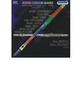 Hungarian Contemporary Works For Flute Duet: Berenyi, Dratsay(Fl)