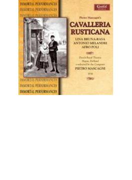 Cavalleria Rusticana: Mascagni / Holland Italian Opera, Bruna Rasa, Melandr