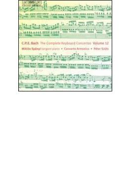 Keyboard Concertos Vol.12: Spanyi(Tangent Piano)szuts / Concerto Armonico