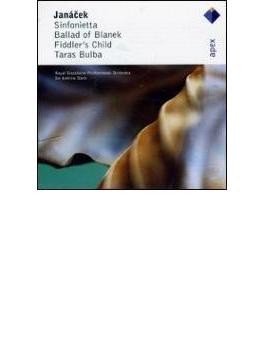 Sinfonietta, Taras Bulba, Etc: A.davis / Royal Stockholm.po
