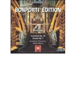 Inventions For Violin & Bc: Martini / Accademia I Filarmonici