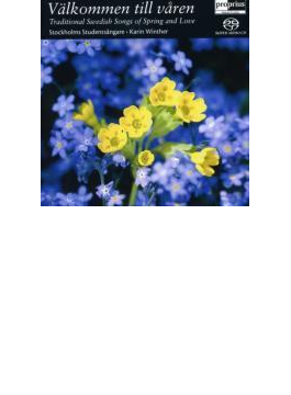Traditional Swedish Songs Of Spring And Love: Karin Winther / (Hyb)