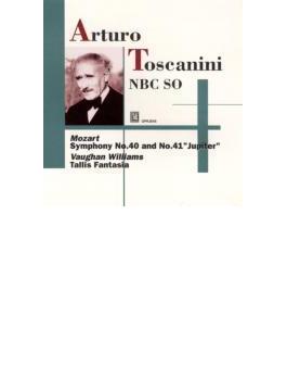 """V=ウィリアムズ:タリス幻想曲(1945) モーツァルト:交響曲第40番(1938,39) 交響曲第41番「ジュピター」(1945,46) バッハ:アリア(1946年)トスカニーニ&NBC響"""
