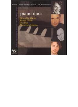 Francesco Libetta With Other Pianists Piano Duos