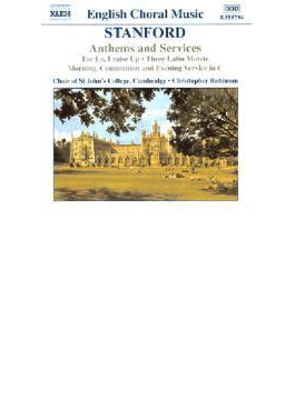 <アンセムとサーヴィス集>3つのラテン語モテット/他 ロビンソン/ケンブリッジ大学セント・ジョンズ聖歌隊/他