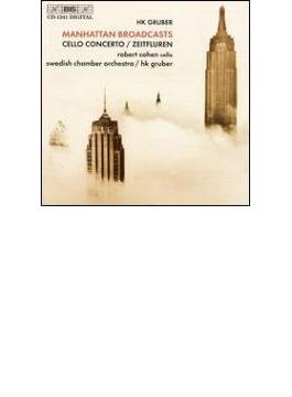 Cello Concerto, Manhattan Broadcasts, Etc: R.cohen(Vc)gruber / Swedish.co