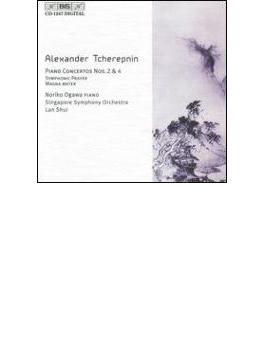 Piano Concerto.2, 4, Etc: 小川典子(P) Lan Shui / Singapore So