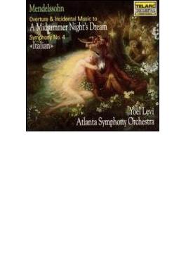 交響曲4, Ein Sommernachtstraum(Slct) レヴィ&アトランタ響
