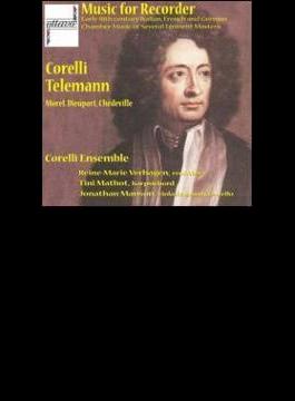 Music For Recorder: Corelli Ensemble