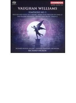 ヴィーン・ウィリアムズ:交響曲第5番/ロンドン交響楽団、ヒコックス(指揮)