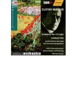 交響曲第1番『巨人』,アイヴズ:『夕暮れのセントラルパ-ク』、『答えのない質問』 ギーレン指揮南西ドイツ放送交響楽団