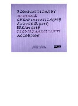 Cheap Imitation, Souvenir, Dream: Anzellotti(Accordion)