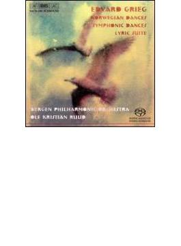 Norwegian Dances, Symphonic Dances, Lyric Suite: Ruud / Bergen.po (Hyb)