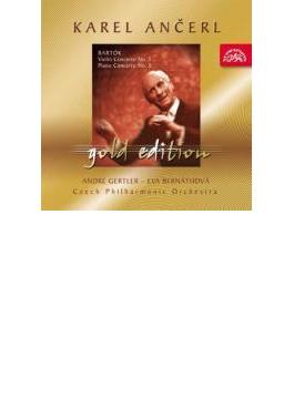 Violin Concerto.2, Piano Concerto.3: Gertler(Vn)bernathova(P)ancerl / Czec