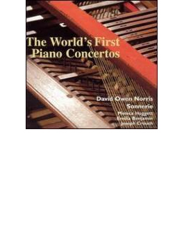 世界初のピアノ協奏曲--J・C・バッハ、アベル、ヘイズ、フックの協奏曲/デヴィット・オーウェン・ノリス(square piano)、ソナーリ