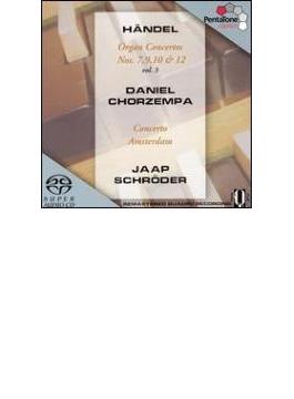 オルガン協奏曲第7,9,10,12番 コルゼンパ(org)シュロ-ダー&コンチェルト・アムステルダム