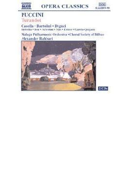 『トゥーランドット』全曲 ラハバリ&マラガ・フィル、カソッラ、バルトリーニ、他(2001 ステレオ)(2CD)