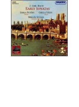 Early Keyboard Sonatas With Violin: Spanyi(P)petofi(Vn)
