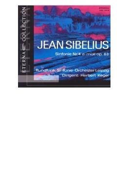 交響曲第4番(ヘルベルト・ケーゲル&ライプツィヒ放送交響楽団)、第6番(パーヴォ・ベルグルンド&ベルリン放送交響楽団)