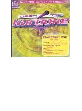 Open Mic Karaoke - Christian Rock Vol.1