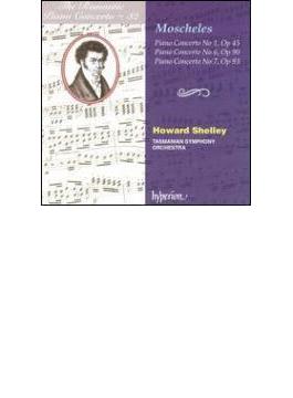 (ロマンティック・ピアノ・コンチェルトVol.32)モシュレス:ピアノ協奏曲第1.6.7番/ハワード・シュリー(pf&指揮)、タスマニア交響楽団