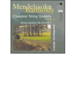 弦楽四重奏曲第3番、第4番、フーガ、カプリッチョ ライプツィヒ弦楽四重奏団
