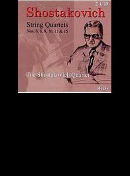 String Quartet.6, 8-10, 11, 15: Shostakovich.q