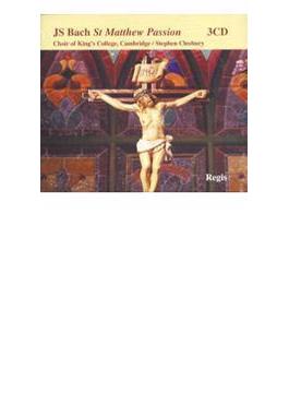 Matthaus-passion: Cleobury / Brandenburg Consort, King's College.cho, Kirkb