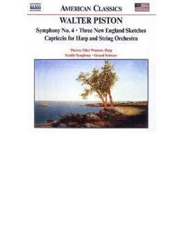 交響曲第4番/カプリッチョ/他 シュウォーツ/シアトル交響/ウンロウ