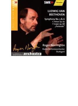 交響曲第5番、第6番『田園』 ノリントン / シュトゥットガルト放送響(2002年)