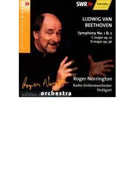 交響曲第1番、第2番 ノリントン / シュトゥットガルト放送響(2002年)