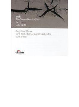 Die Sieben Todsunden / Lulu Suite: Masur / Nyp, Etc