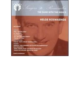 Helge Roswaenge The Dane With The High D