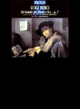 メルチ:6つのフルート・ソナタ集/セルジオ・バレストラッチ(フルート)、ラ・:スタジオーネ・アルモニカ