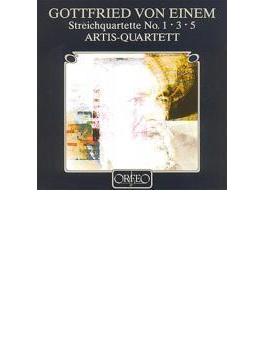 String Quartet.1, 3, 5: Artis.q