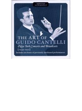 グイド・カンテッリの芸術 ニューヨーク・コンサート&放送録音集 1949-1952 (12CD)