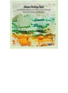 6つのソナタOp.15より/4手のピアノのためのソナタ/他 ジェノヴァ&ディミトロフ(ピアノ・デュオ)