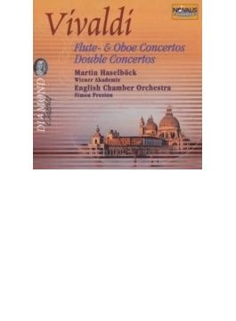 Flute, Oboe Concertos: Racine, Indermuhle, Double Concertos: Haselbock / Wien