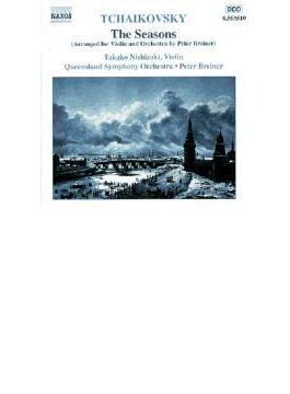 四季/中級程度の12の小品 西崎/ブレイナー/クイーンズランド交響楽団