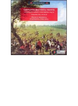 Violin Concerto.22, 24, 28: Mezzena(Vn)sinfonia Perusina