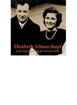 ドイツ放送への録音集1940-41年 シュワルツコップ(S)(2CD)