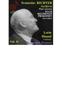 ピアノ協奏曲第5番、他(リヒテル第11集) リヒテル(p)マゼール&フランス国立管