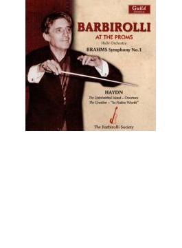 交響曲第1番、他 バルビローリ&ハレ管弦楽団