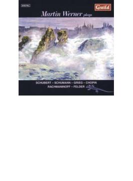 Debut Cd-schubert, Schumann, Rachmaninov, Grieg, Etc: M.werner