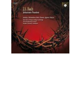 ヨハネ受難曲 クレオバリー&ブランデンブルク・コンソート、キングス・カレッジ合唱団(2CD)