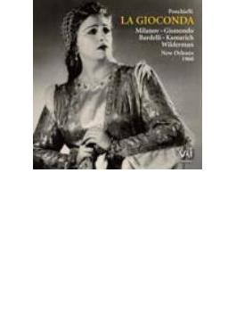 歌劇『ジョコンダ』全曲、他 チェリーニ&ニューオリンズ歌劇場管、ミラノフ、他(3CD)