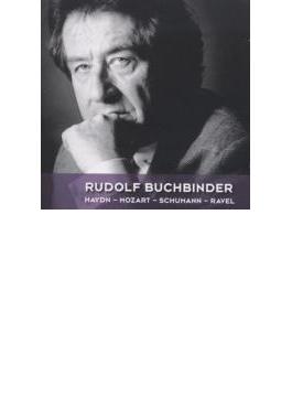 ブッフビンダー/ライヴ録音集(ハイドン、ラヴェル、シューマン、他) サヴァリッシュ&VSO、他(2CD)