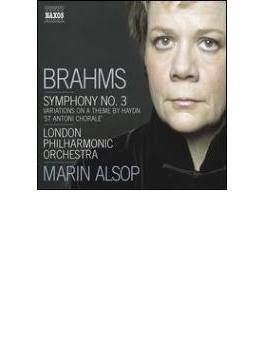交響曲第3番、ハイドンの主題による変奏曲 オールソップ&LPO